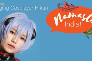Singing Cosplayer Hikari debuts with Evangelion's song