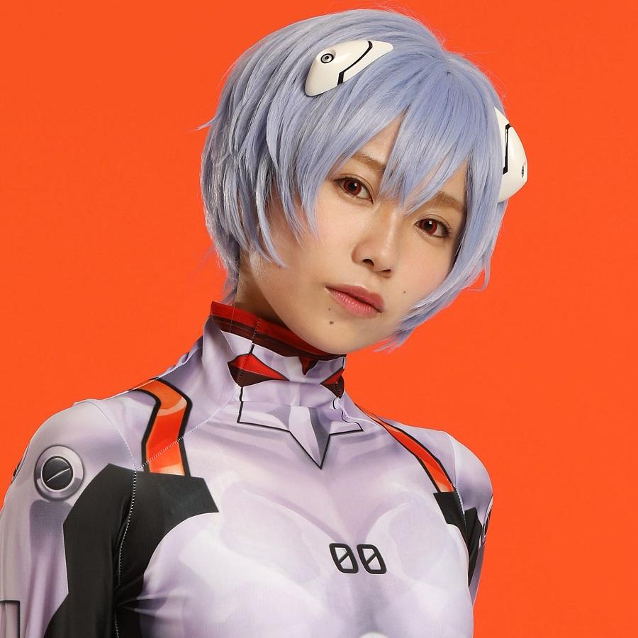 Singing Cosplayer Hikari as Rei Ayanami