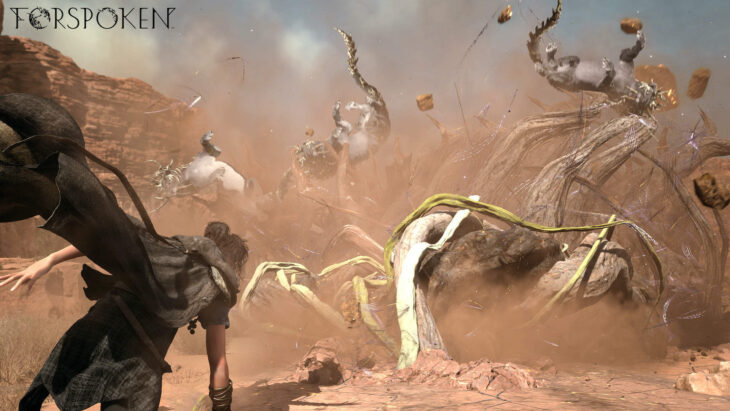 SQUARE ENIX unveiled 'Forspoken'
