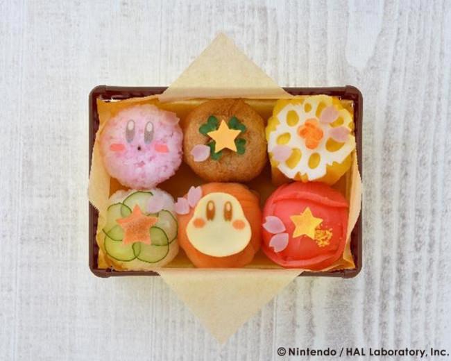Kirby sushi box