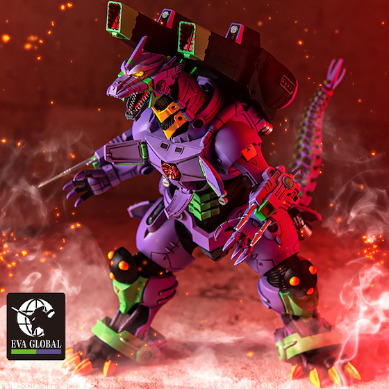 he Godzilla vs. Evangelion Mechagodzilla (Type-3 Kiryu EVA Unit-01 Color Ver.)