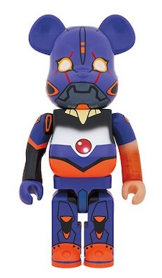 "Eva store limited edition of ""BE @ RBRICK Evangelion Unit 1 Awakening Edition 1000%"
