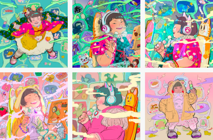 HYPER JAPAN ONLINE 2021 official artwork