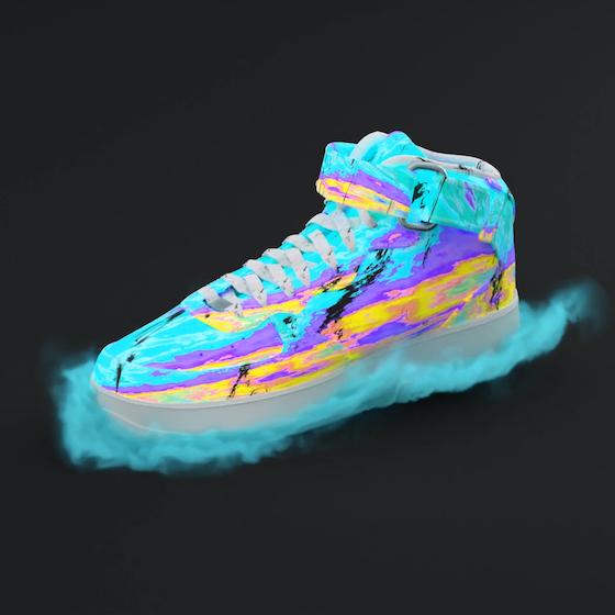 virtual sneaker by 1block