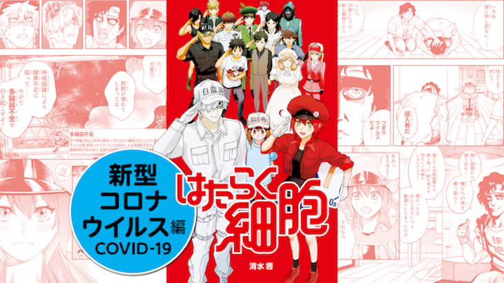 Cells at Work! Chapter: COVID-19