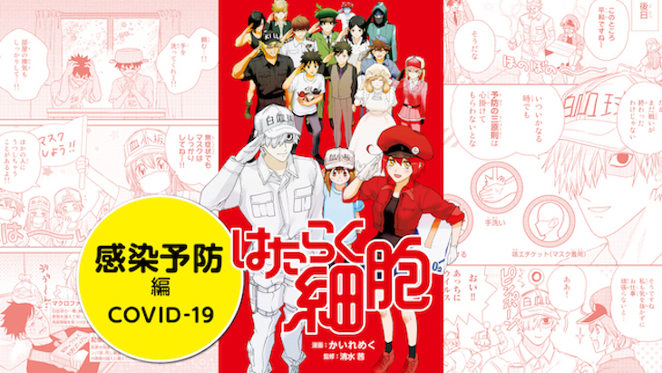 Cells at Work! Chapter: Infection Prevent