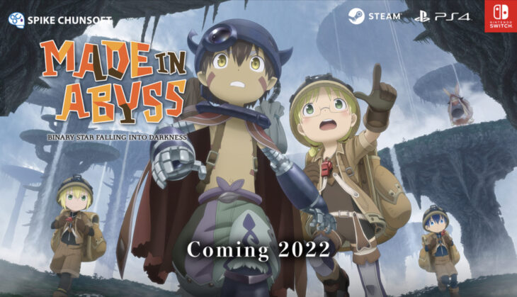 """Japanese manga """"Made in Abyss"""" goes a video in 2022"""