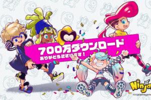 Ninjala from GungHo got over 7 M download