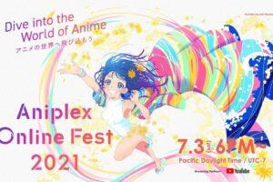 Aniplex-Online-Fest main visual illustrated by Saki Takahashi