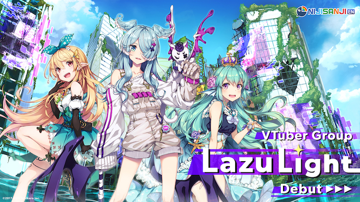 "NIJISANJI EN: VTuber Group ""LazuLight"" Debuts"