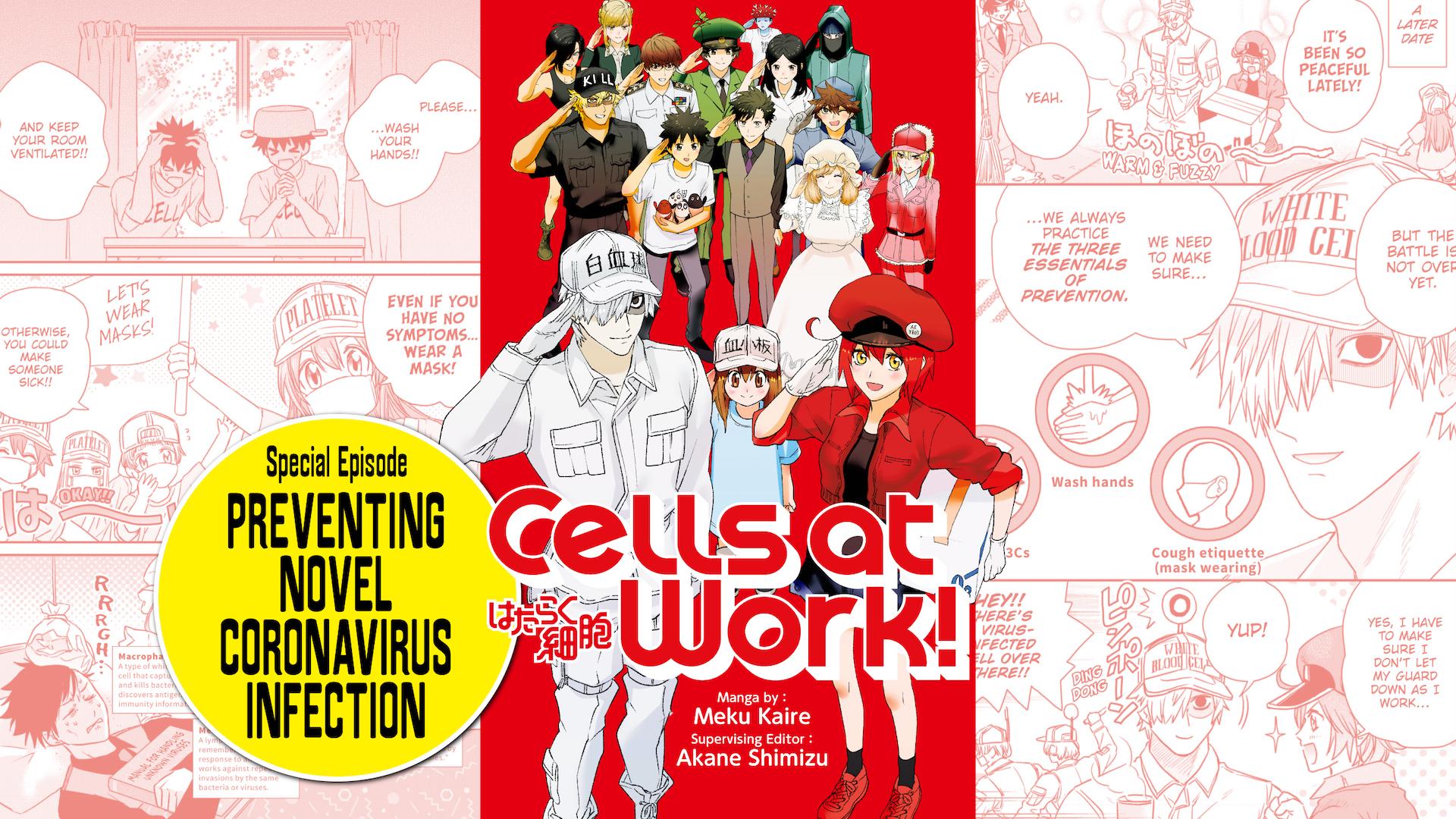 Cells at Work - Preventing Novel Coronavirus Infection